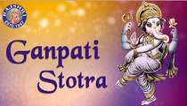 Ganpati Stotra With Lyrics   Pranamya Shirasa Devam   Peaceful Chants
