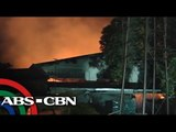 Fire hits paper products warehouse in Muntinlupa