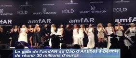 Collecte record de 30 M€ au gala de l'amfAR au Cap d'Antibes