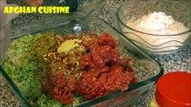 Afghan Chapli Kabob Recipe 'Afghan Cuisine' Cooking afghan food - Pakistani cuisine