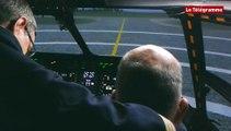 Ban de Lanvéoc. Un simulateur de haut vol pour les pilotes du Caïman Marine