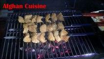 Afghan Chicken Kabob Recipe 'Afghan Cuisine' - Afghan food