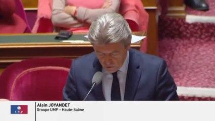 Alain Joyandet - Régime social des indépendants