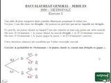 BAC ES 09 métropole mathématiques exercice 3
