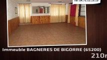 A vendre - Immeuble - BAGNERES DE BIGORRE (65200) - 210m²