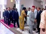 Tunisie Maroc : Arrivée de SM le Roi à Tunis