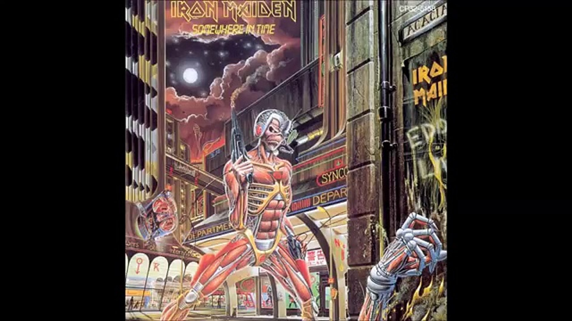 Iron Maiden Caught Somewhere In Time