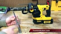 DeWALT DCH213L2 20V MAX Lithium Ion 3 Mode SDS Rotary Hammer Kit