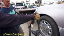 Tire Tie Down How To Video Tow Strap Tires On Towing Truck Stinger