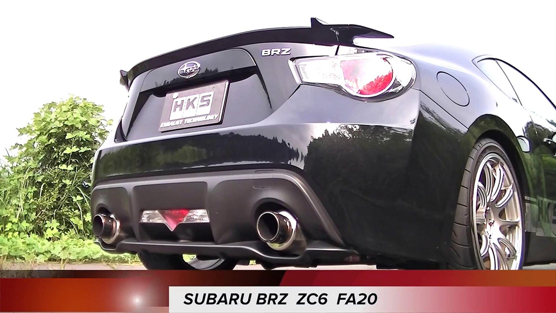 TOYOTA 86/SUBARU BRZ HKS SMC GT-SPEC+Spec-L EXHAUST SOUND