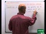 33 Primitives : primitives des fonctions usuelles