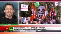 Linus Neumann on suing Merkel's govt for aiding NSA, GCHQ spying programme