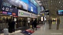 Hong Kong Airport Express Train Station *HD*