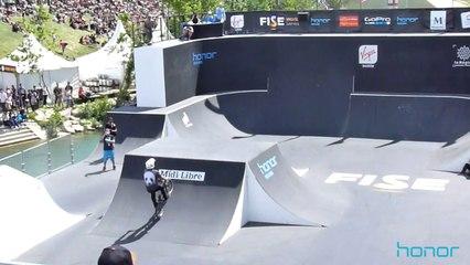 "Timothé Bringer, 16 ans, premier ""flip 2 whip to bus"" en BMX - FOR THE BRAVE"