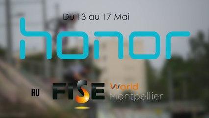 L'équipe Honor France se prépare pour le FISE