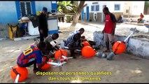 Implantation de Dispositifs de Concentration de Poissons au Cap-Vert