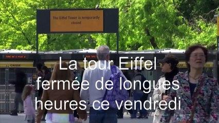 Les pickpockets font fermer la tour Eiffel