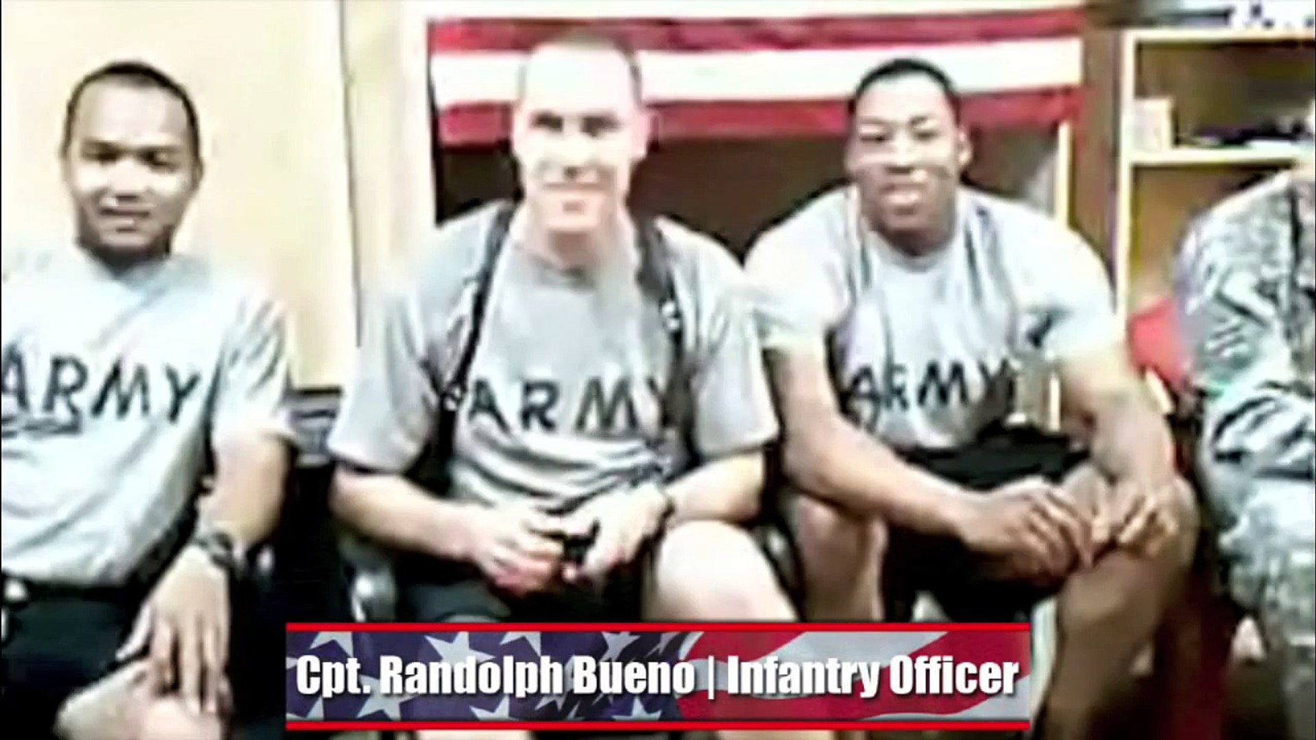 NFL Players Chat with U.S. Troops in Iraq