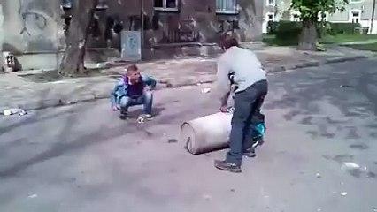 Çöp kutusundan top yapmak