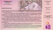 Simbahay | Pebrero 24, 2014 | Lunes ng Ika-7 na Linggo sa Karaniwang Panahon