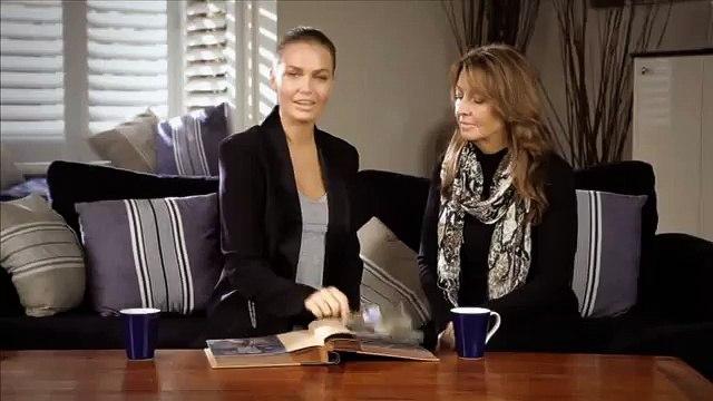 Lara Bingle and Sharon Bingle Talk Bowel Cancer