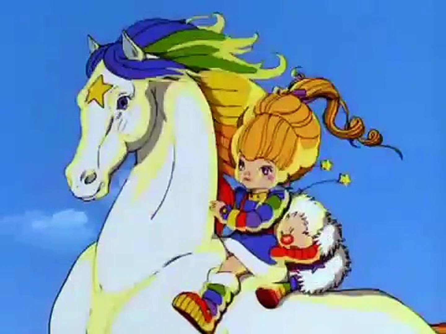stormy and skydancer s introduction rainbow brite and the star stealer video dailymotion rainbow brite and the star stealer