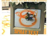 spraybot - a lego mindstorms spray and graffiti roboter