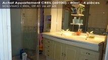 A vendre - appartement - CREIL (60100) - 4 pièces - 80m²