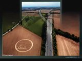 Twin Crop Circles, 07-30-2010, Berkshire UK