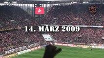 Vor dem Spiel 1. FC Köln - Borussia Mönchengladbach (BuLi-Saison 08/09, 24. Spieltag)