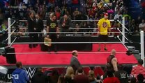 WWE John Cena vs Brock Lesnar vs Seth Rollins Contract Signing - WWE Raw January 12 2015