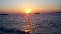 Sunset at Kayuangin Island Bira, Thousands islands, Jakarta