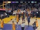 Kobe Bryant gets ejected after Matt Carroll's 4 Point Play