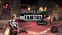 Como fazer os Stunts de Infamous/stunts of infamous