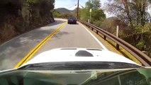 Evo Chasing Matt Farah's Mustang @ Mulholland Hwy