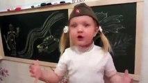 Ребенок рассказывает стих о войне.ДО СЛЕЗ