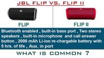 FLIP VS.  FLIP II   FLIP AND FLIP II COMPARISON    COMPARE JBL FLIP AND FLIP II
