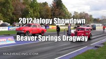 Old School Gasser Drag Racing - ADRL Dragstock - video