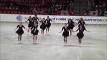 Adult Synchronized Skating Free Skating -  International Adult Competition 2015 - Oberstdorf, Germany