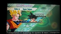 dragon ball z shin budokai another road all characters