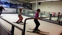Ski sur tapis roulant