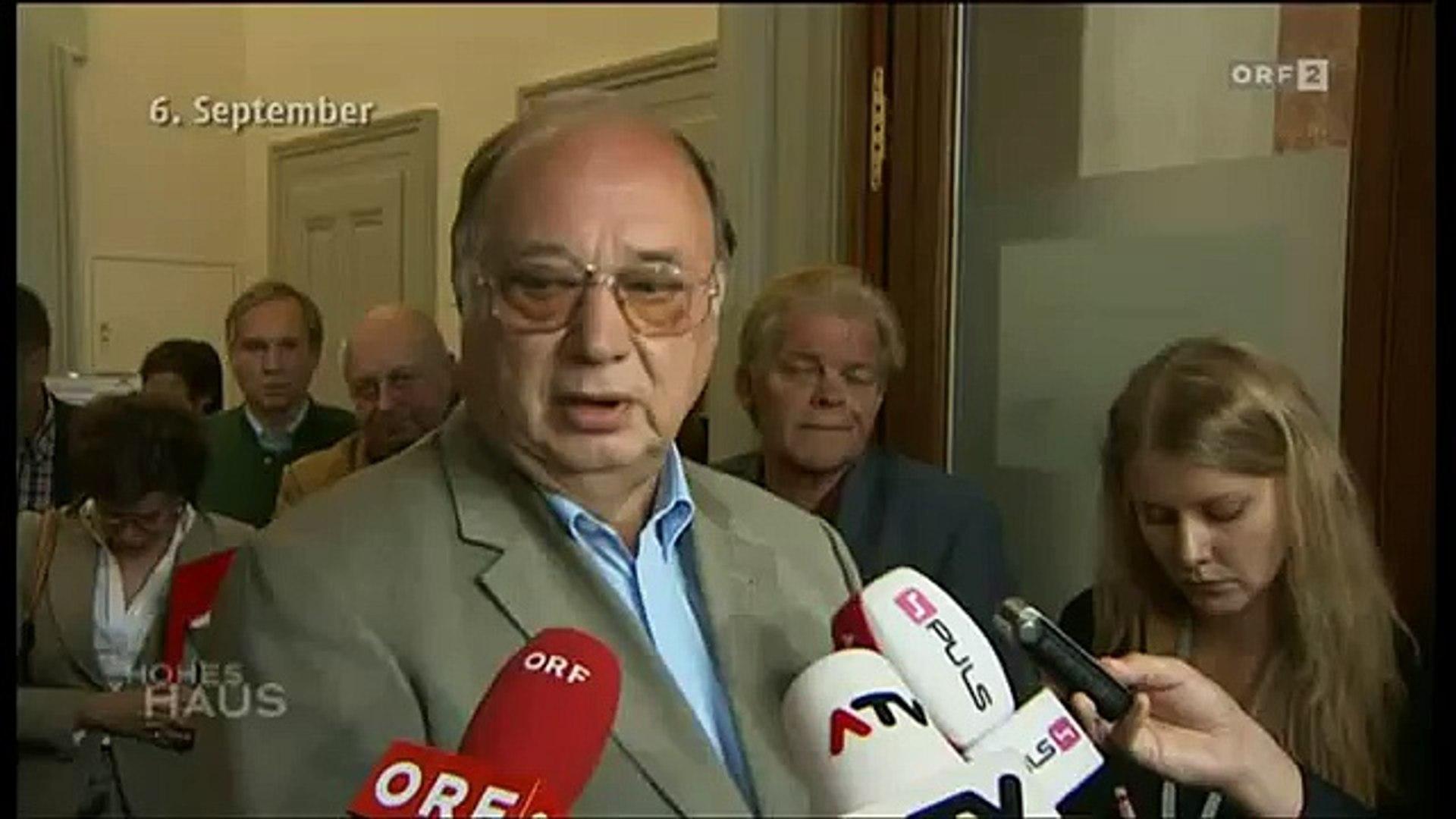 SPÖ spuckt auf U-Ausschuss. (Josef Cap)