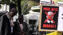 Christophe Junior Zogo  a promis le renversement du régime de Paul Biya le 30 Septembre 2013 à Paris