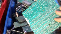 URBAN MINING! Recovering gold, copper, precious metals from PCB's without chemicals