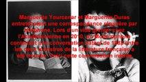 Conversation téléphonique inédite entre Marguerite Yourcenar et Marguerite Duras