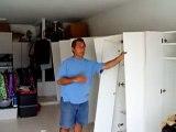 DIY  Garage Storage Cabinets  European Style Option 1 for Garage Organizing.MPG