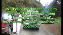 NZ Police show their hypocracy by blocking and unblocking roads for corporate agendas