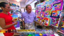 Artist Peter Max's colorful creations span 50 years