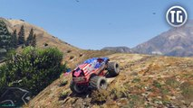 GTA 5 - Liberator Monster Truck Location in Single Player! (GTA V)