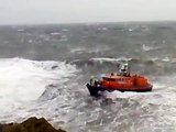 Portpatrick Lifeboat rough weather 3